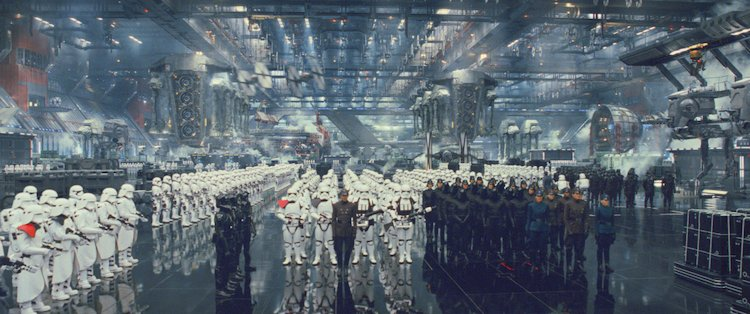 the first order storm trooper army