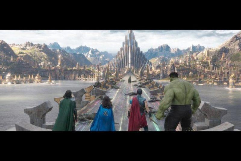 10 Reasons You will Love Marvel's Thor Ragnarok bridge