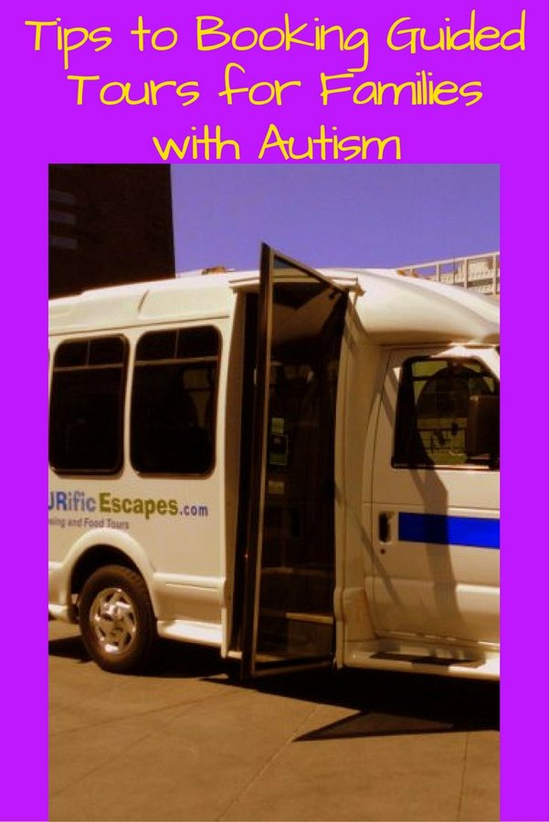 Tips to Booking Guided Tours for Families with Autism pin