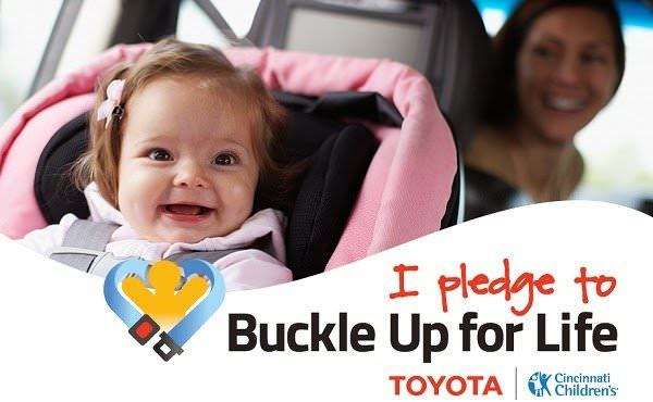 Disclaimer: This post is sponsored by Toyota Buckle for Life baby