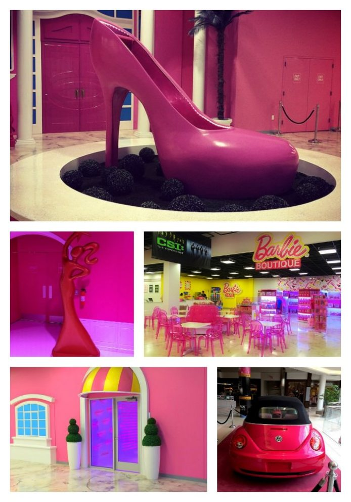 Barbie Dream House Experience at Mall of America shoe