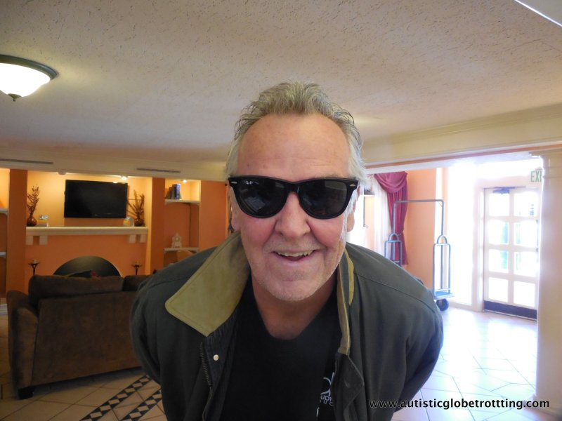 Q&A with Dennis Debbaudt-Autism Safety Expert sunglasses