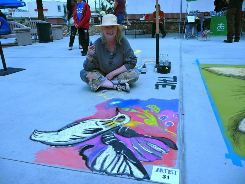 Q&A with Keri Bowers Film Producer and Autism Advocate chalk festival