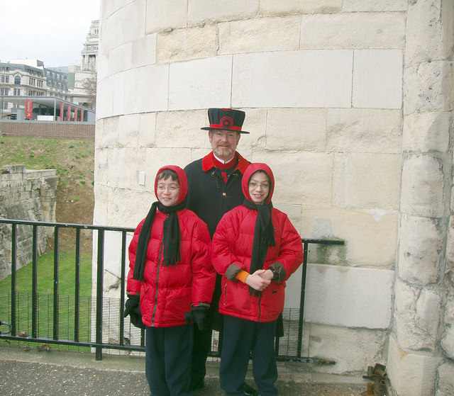 Ten Favorite Family Activities to do in London beefeater