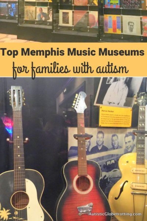 Three Iconic Memphis Music Museums to Explore for Kids with Autism pin