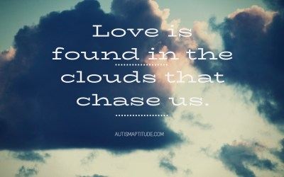 the clouds that chase us