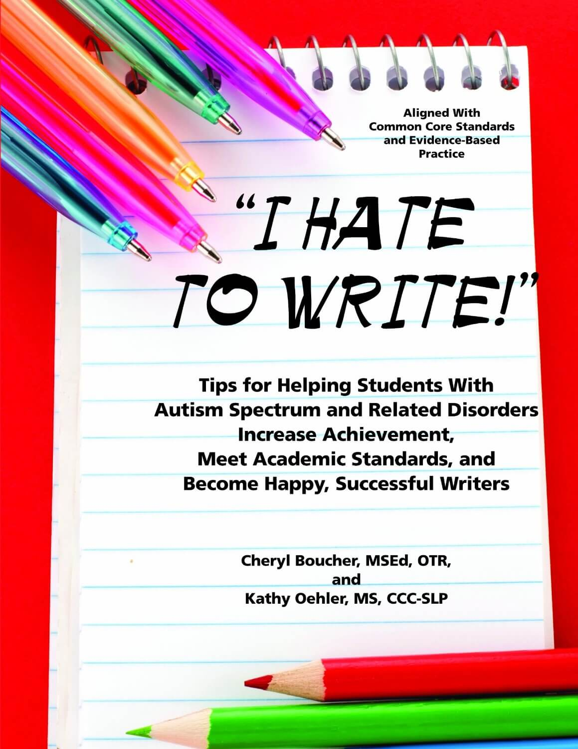 I Hate To Write Tips For Helping Students With Autism