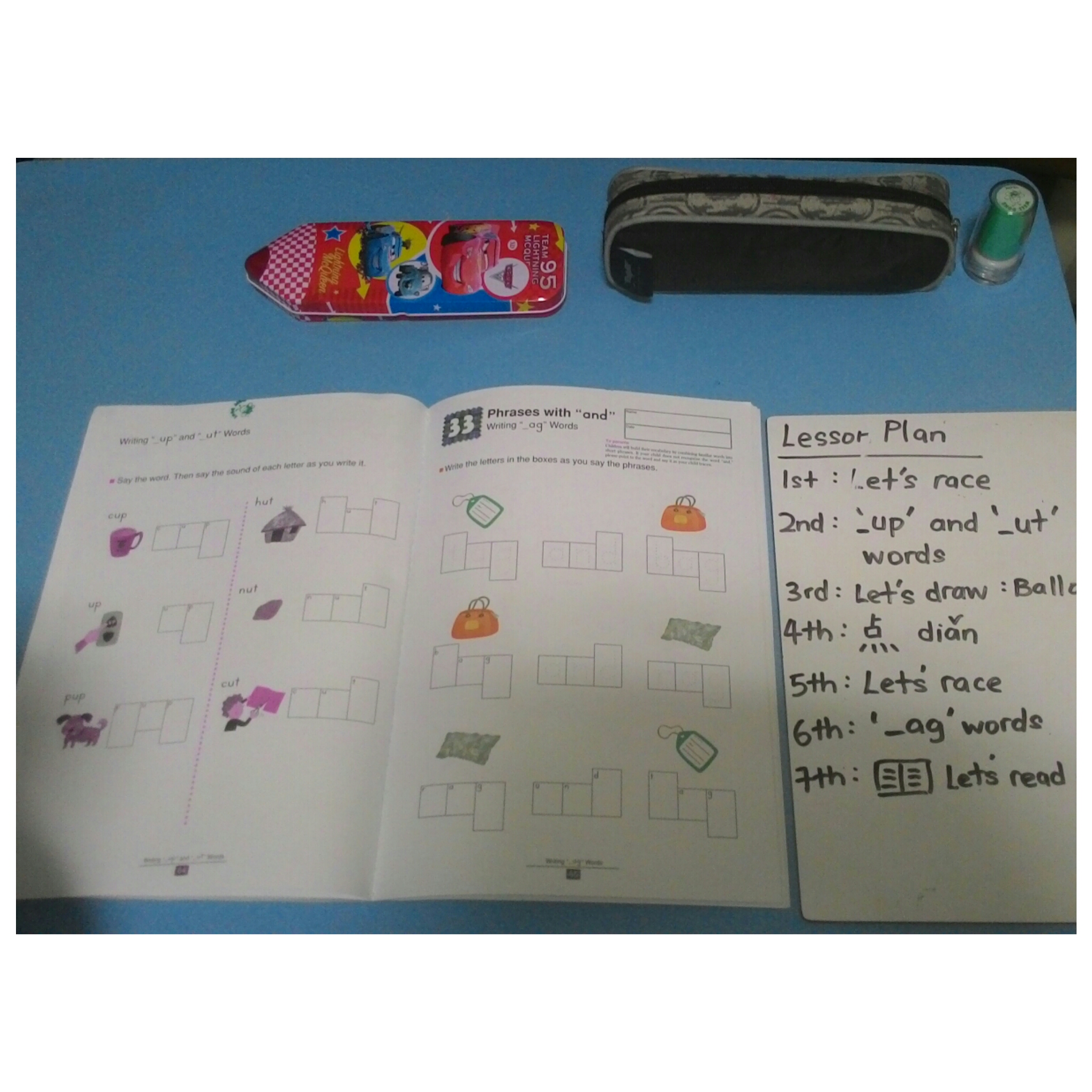 Teaching Ordinal Numbers Lesson 3