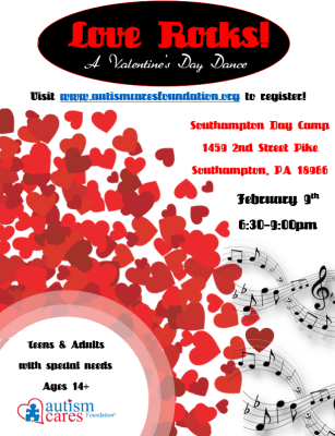 Valentine's Day Dance @ Southampton Day Camp | Southampton | Pennsylvania | United States