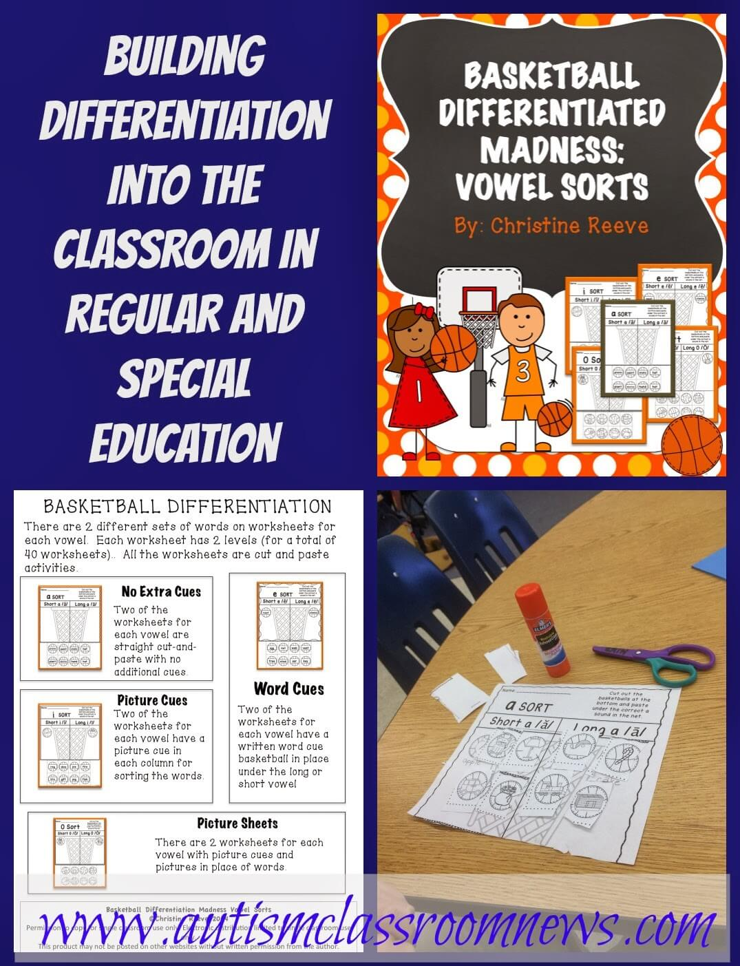 Building Differentiation Into The Classroom