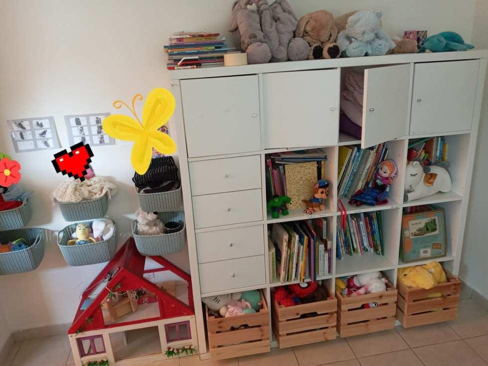 בהנגשת הבית לילדים עם צרכים מיוחדים ,כאשר מארגנים שטחי אחסון, צריך לעבוד ביעילות אך גם לסדר דברים בצורה שתאפשר לחנך לעצמאות