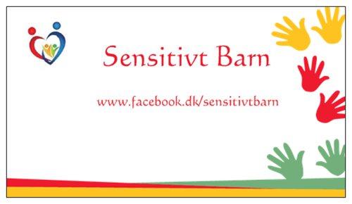 sensitivt barn banner