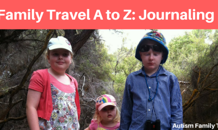 Family Holiday A to Z: Journaling Your Holiday