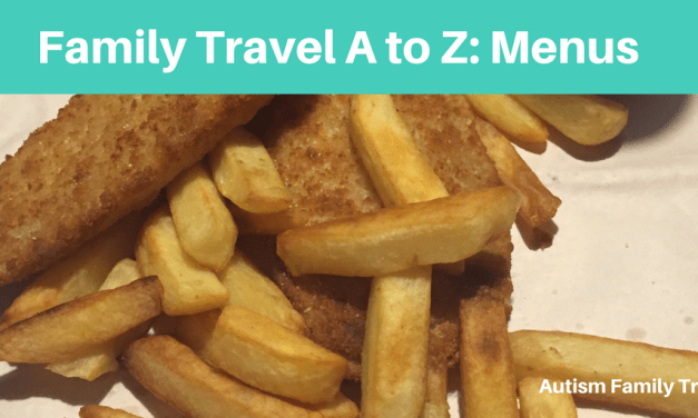 Family Travel A to Z: Menus