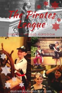 The Pirates League, Disney's Magic Kingdom