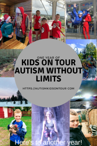 One year of Kids on Tour - Autism without Limits!