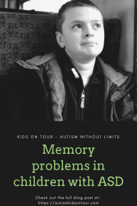 Memory problems in children with Autism Spectrum Disorder (ASD)