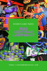 Buzz Lightyear Laser Blast, Disneyland Paris