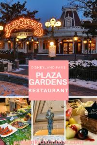 Lunch at The Plaza Gardens Restaurant at Disneyland Paris