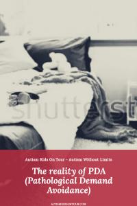 The reality of PDA (Pathological Demand Avoidance)