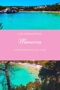 Cala Galdana Beach, Menorca