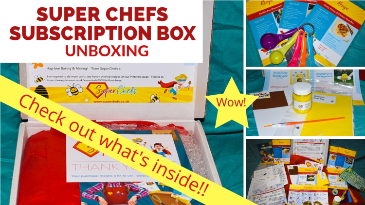 A link to the you tube video where we unbox the super chefs subscription box