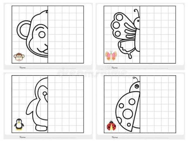 SYMMETRIEMUSTER-KINDER-kindergarten-worksheets-kids-drawing-learning-simple (13)