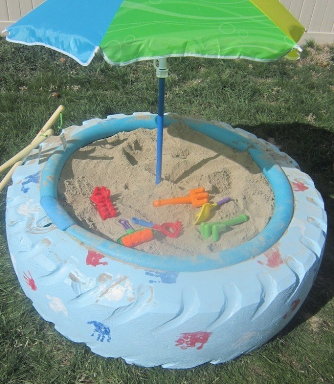 Homemade-Sandbox