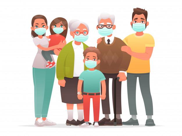 famiglia-in-maschere-mediche-protettive-madre-padre-nonni-bambini-si-proteggono-dal-virus-o-dall-inquinamento-atmosferico-coronavirus_165429-532