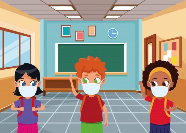 interracial-kids-using-face-masks-covid19-classroom_18591-65980