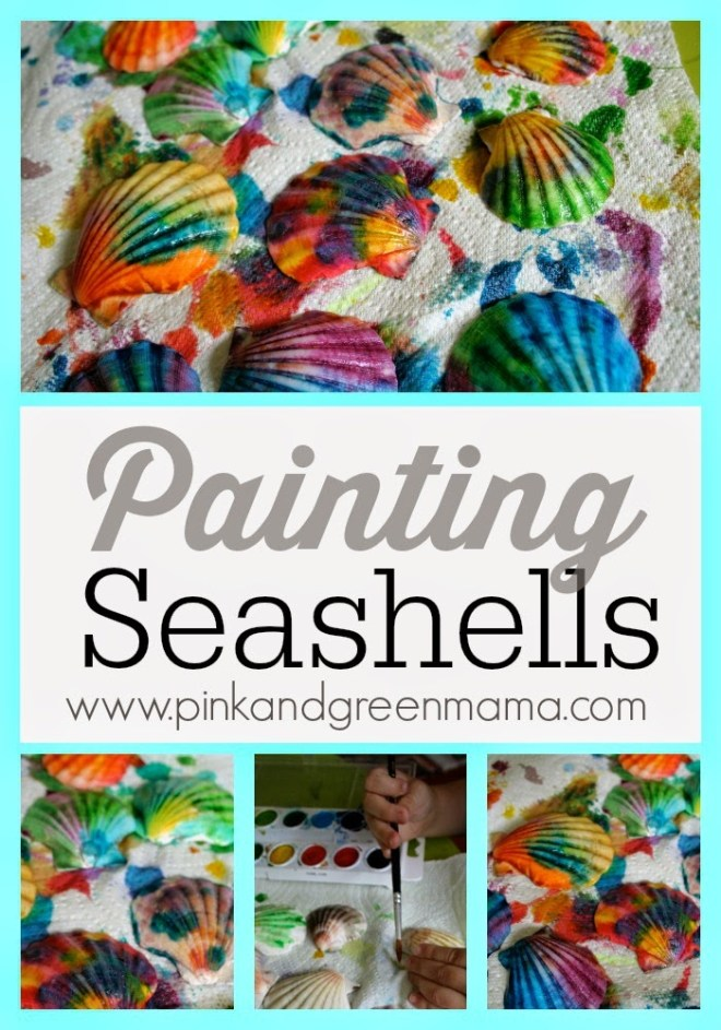 seashell-painting-collage