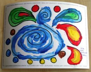 Agua de colores - Autor: Aida - Aspanaes Ferrol