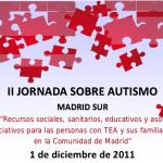 La Federación Autismo Madrid, en colaboración con la Asociación ProTGD y CERMI Madrid, celebran la II Jornada sobre Autismo Madrid Sur