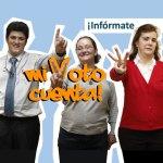 FEAPS impulsa #mivotocuenta, una campaña para reivindicar el derecho al voto de las personas con discapacidad intelectual