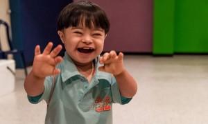 Riesgo de regresión: Los niños que tienen tanto el autismo y el síndrome de Down son más propensos a perder el lenguaje y otras habilidades que los niños que tienen síndrome de Down solo.  Foto: Wilfredo R. Rodriguez H.