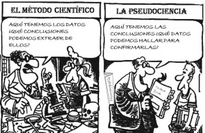 pseudociencia vs ciencia