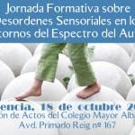 Jornada formativa sobre desordenes sensoriales en los Trastornos del Espectro del Autismo