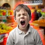 Evitar berrinches yendo de compras