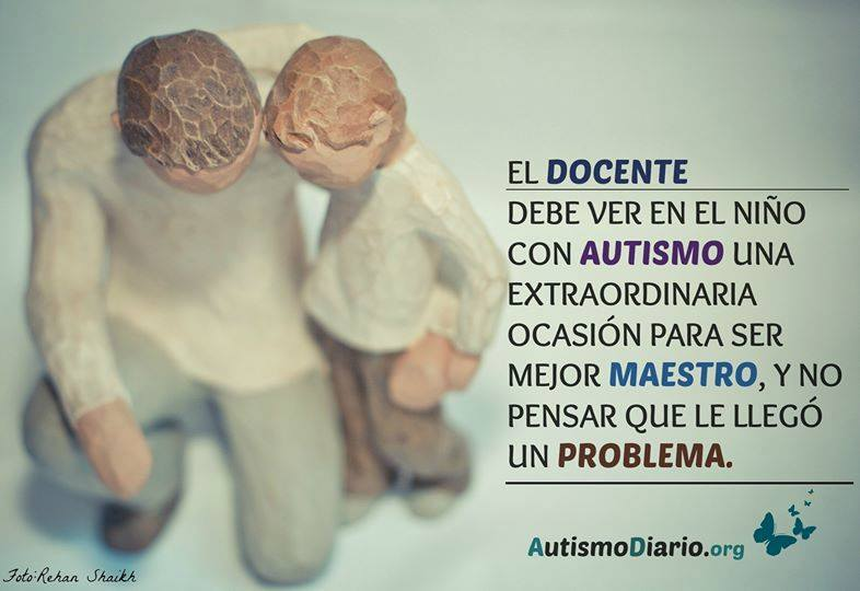 Entendiendo al alumno con autismo