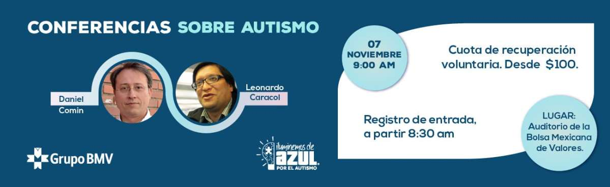 Conferencias sobre Autismo y Asperger en la Ciudad de México