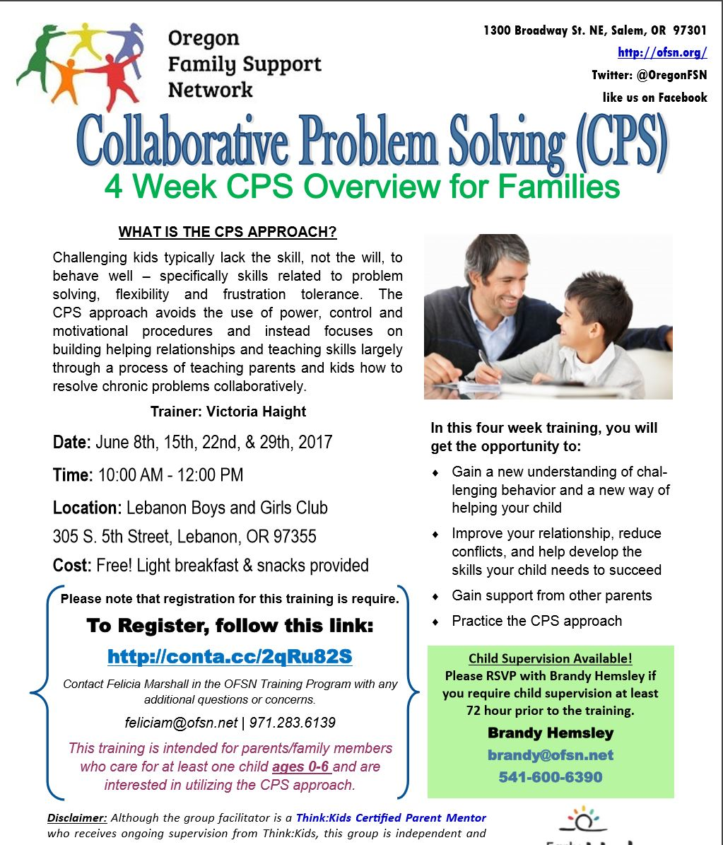 For Parents Of Autistic Kids 22nd >> Collaborative Problem Solving Lebanon Autism Society Of Oregon