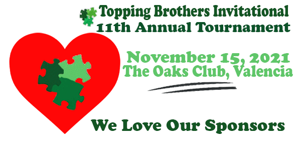 Increase Awareness about Autism – Topping Brothers Golf Invitational