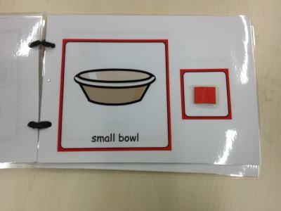large symbol visual instruction