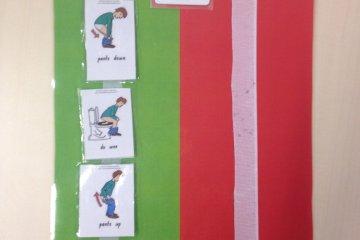 toilet visual schedule asd teacher