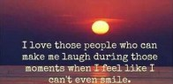 make me laugh when cant smile