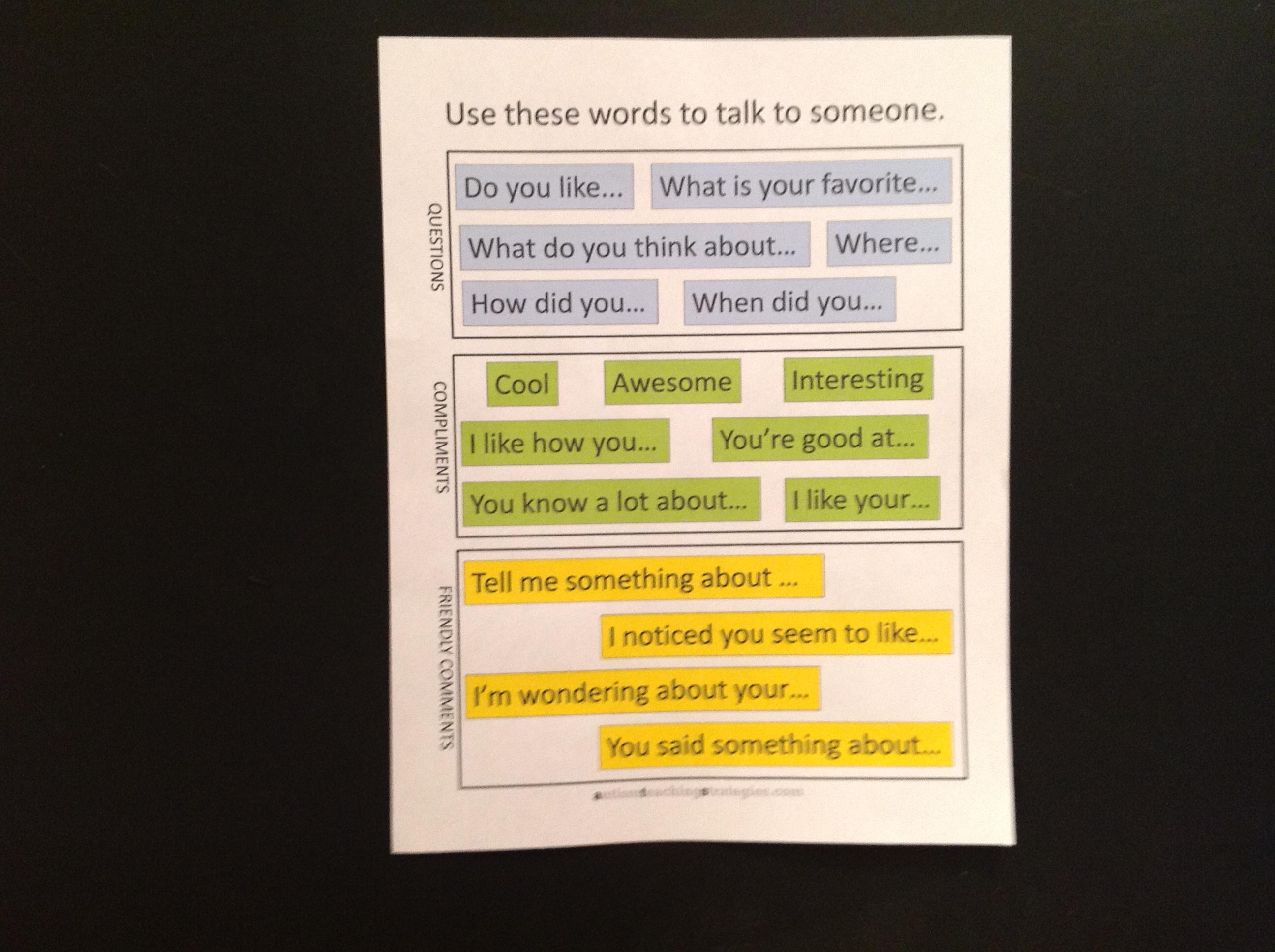 14 Simple Conversation Social Skills Kits For Children