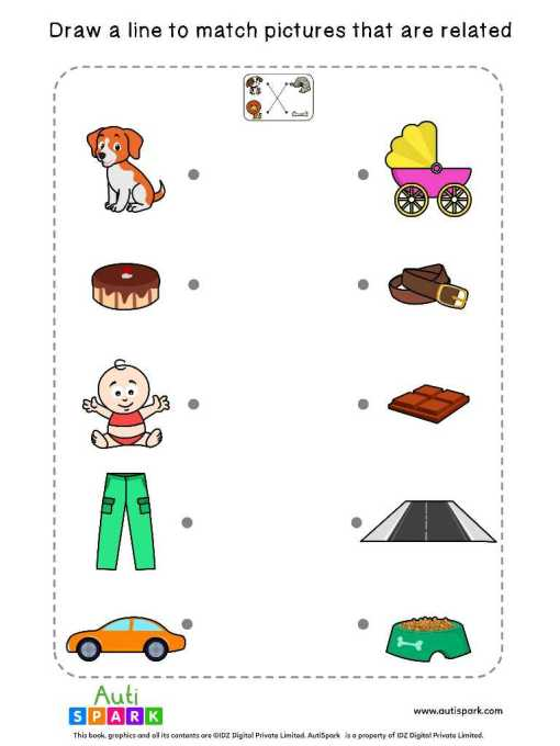 Match Related Worksheets 8