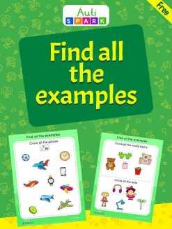 Fun object Sorting Workbook - Circle The Objects : 1