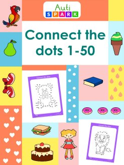 Dot To Dot Printable Workbook 1 : Connect The Dots 1-50