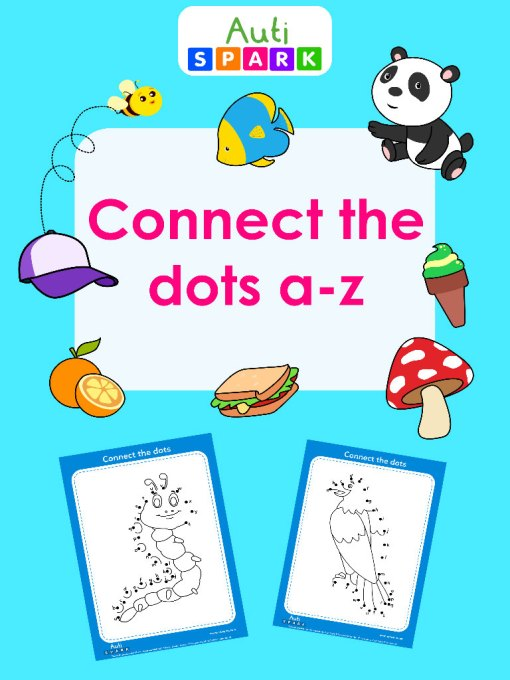 Connect The Dots a-z : Fun Dot To Dot Printable Workbook 2